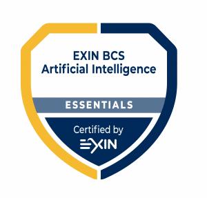 Artificial intelligence training badge