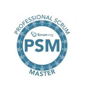 Scrum Master training badge